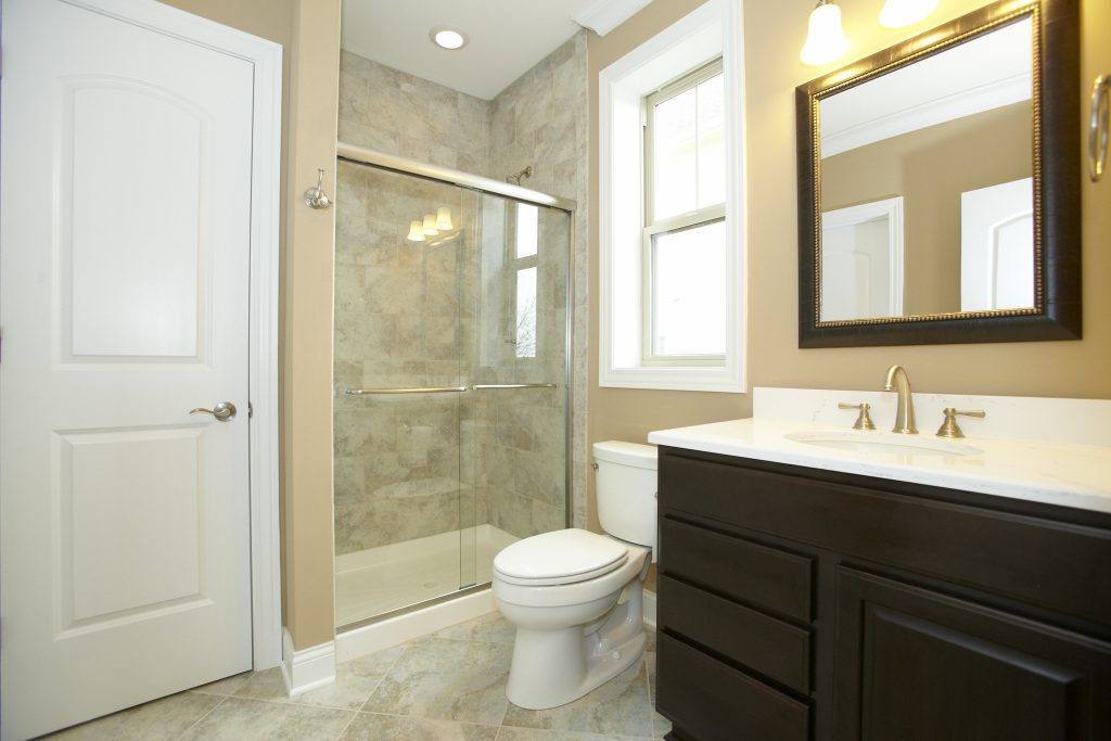 Installing A Basement Bathroom Offers Great Value And Convenience To Your  Home. White Fixtures And Light Reflecting Finishes Are A Cant Miss Combo In  Adding ...